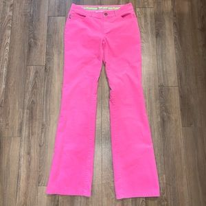 Lilly Pulitzer Pink Corduroy Pants